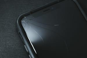 iPhoneの画面ガラス割れ01